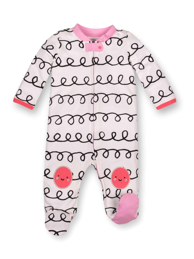 2 Piece Lamaze Organic Baby Baby Boys Organic Cotton Sleep N Play /& Hat Gift Set W//Bag