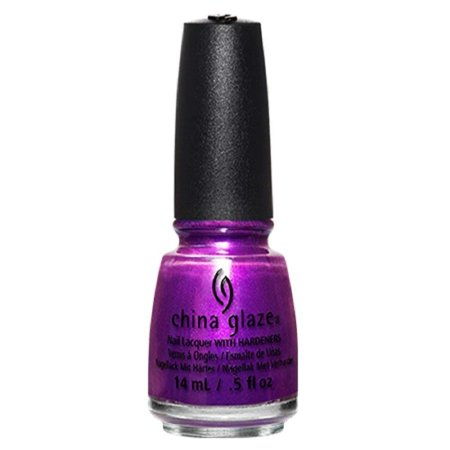 Rebel Collection Nail Lacquer, Blue-Ya!, Purple with shimmer By China Glaze