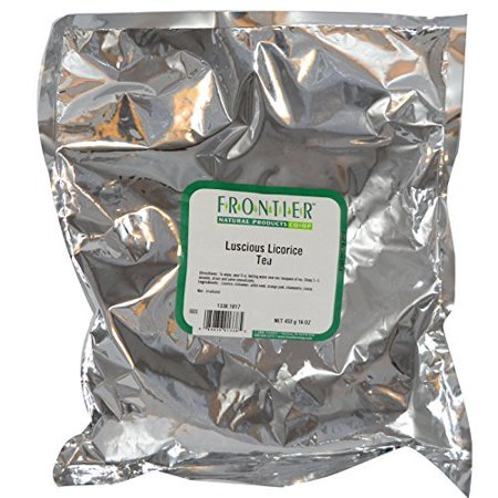 Frontier Natural Products Tea Luscious Licorice -- 1 lb