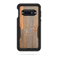 Skin For Otterbox Commuter Samsung Galaxy 10E - Barnwood | MightySkins Protective, Durable, and Unique Vinyl Decal wrap cover | Easy To Apply, Remove, and Change Styles