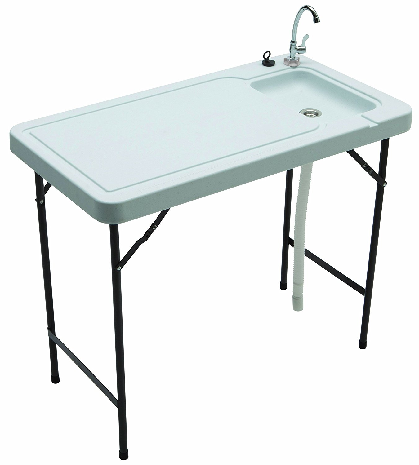 TRICAM MT-2 Outdoor Fish and Game Cleaning Table with Qui...