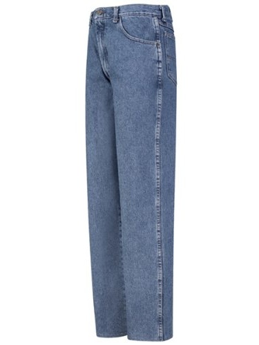 PD60 Men's Relaxed Fit Jean Stonewash 38W x Unhemmed