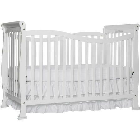 Infant Wood Crib - Dream On Me Violet 7-in-1 Convertible Crib White