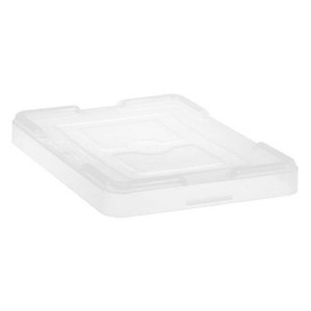 Dividable Grid Storage Container Cover - Clear
