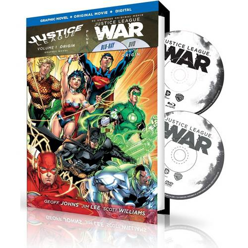 Justice League: War With Justice League Volume 1 (New 52) Graphic Novel (Blu-ray + DVD + Digital HD With Ultraviolet) (With INSTAWATCH)