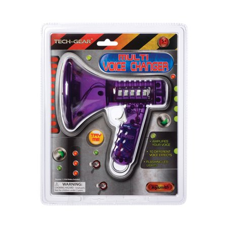 Toysmith Multi Voice Changer (Colors may vary) (Best Girl Voice Changer)