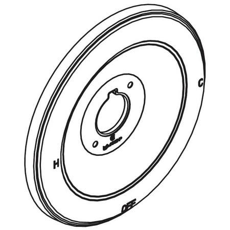 - Moen 97577 Moentrol Single Handle Tub / Shower Escutcheon