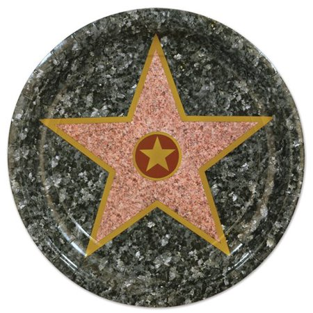 - The Beistle Company Awards Night ''Star'' Paper Dessert Plate