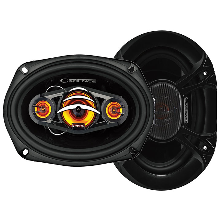 Cadence 6x9 4-way speakers 250 peak