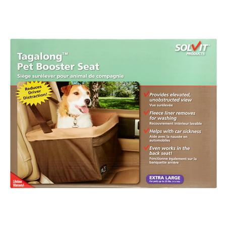 Solvit Tagalong Standard Booster Pet Car Seat