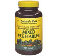 Mixed Vegetables Nature's Plus 180 Tabs