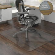 "Zimtown High Quality 59"" x 48"" PVC Chair Mat Hard Floor Protection Clear Transparent US"