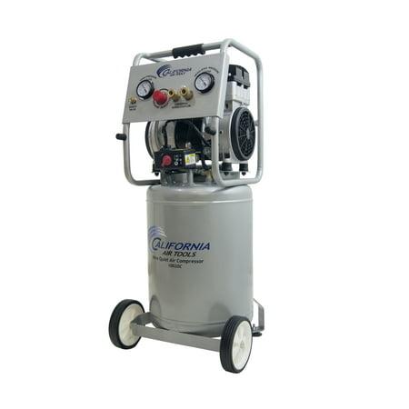 California Air Tools 10020CAD-22060 Ultra Quiet & Oil-Free 2.0 Hp, 10.0 Gal. Steel Tank Air Compressor with Auto Drain Valve