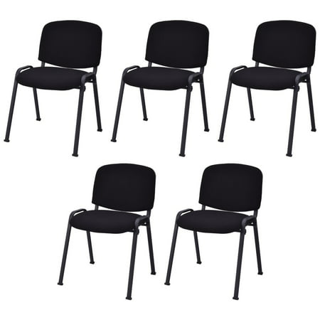 Topbuy Set of 5 Office Meeting Chair Elegant Conference Waiting Guest Reception Chairs w/ Armrest ()