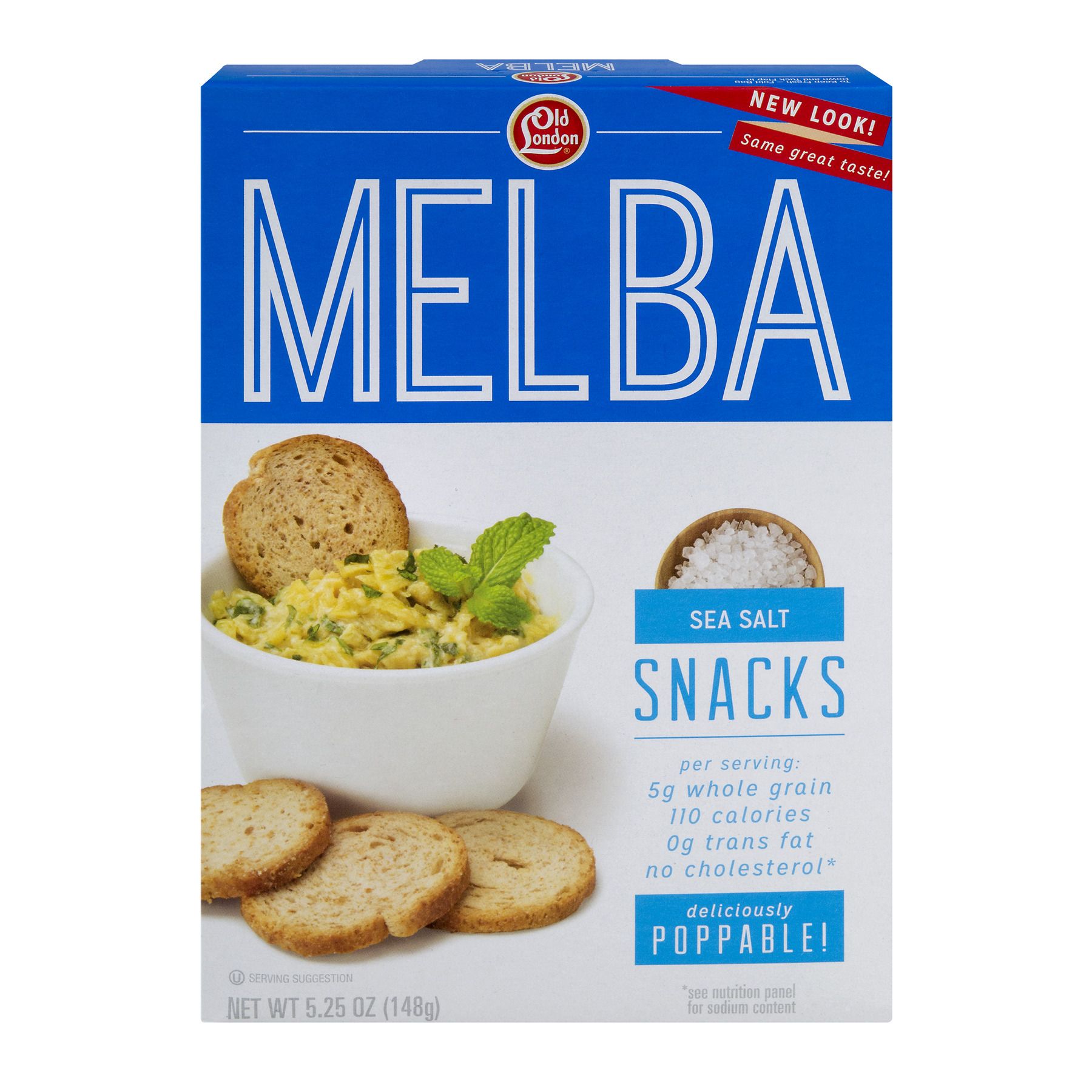 Old London Melba Snacks Sea Salt, 5.25 OZ