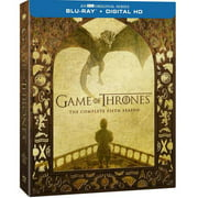 Game Of Thrones: The Complete Fifth Season (Blu-ray + Digital HD With UltraViolet) (Walmart Exclusive))