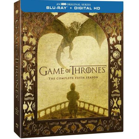 Game Of Thrones  The Complete Fifth Season  Blu Ray   Digital Hd With Ultraviolet   Walmart Exclusive