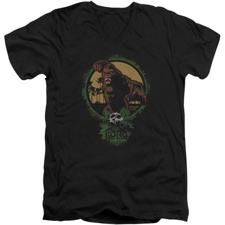 Kong Skull Island Mens  Wrath Of Kong Slim Fit T Shirt Black
