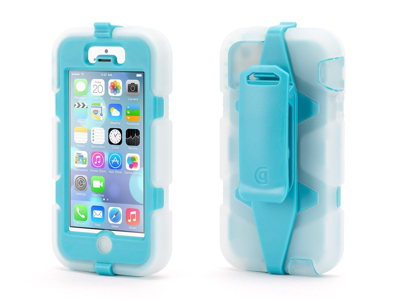 best authentic df73c 237e3 Griffin Griffin iPhone 5/5s/SE Rugged Case, Survivor All-Terrain Case +  Belt Clip, Impact Resistant Military-Duty Case