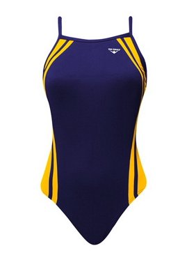 672faa28bc Product Image (Price/each)The Finals 9864A Women's Reactor Splice Butterfly  Back Swimsuit-Navy