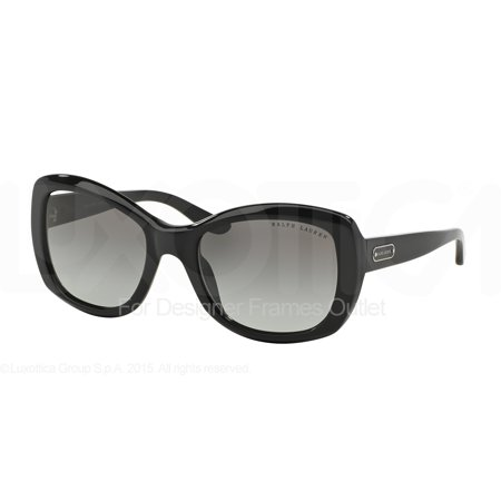 RALPH LAUREN Sunglasses RL 8132 500111 Black 55MM ()