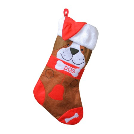 Red And White Christmas Stocking (17