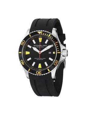 Stuhrling Original  Men's Regatta Bracera Japanese Quartz Strap Strap Watch