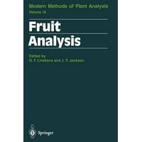 Fruit Analysis