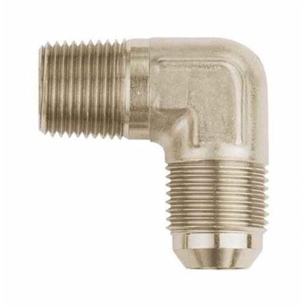 Aeroquip Eaton FCM2623 90 deg Male AN to Pipe Adapter - image 1 of 1