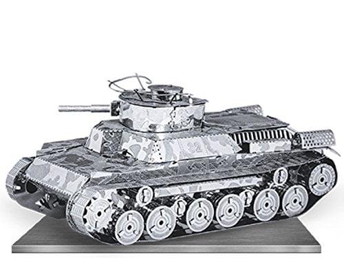 Fascinations Metal Earth Chi-Ha Tank 3D Metal Model Kit by Metal Earth