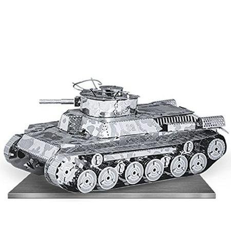 Tank Model Kit (Fascinations Metal Earth Chi-Ha Tank 3D Metal Model)