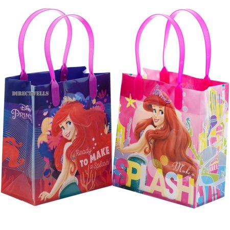 Little Mermaid Ariel Splash 12 Reusable Small Goodie Bags 6