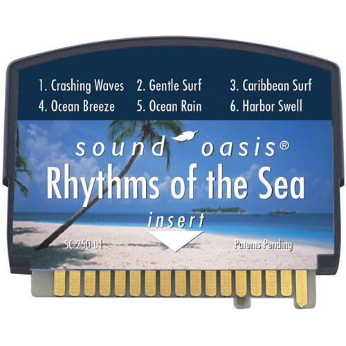 Sound Oasis Rhythms Of The Sea Sound Card For The S-550-05 Sound Therapy System