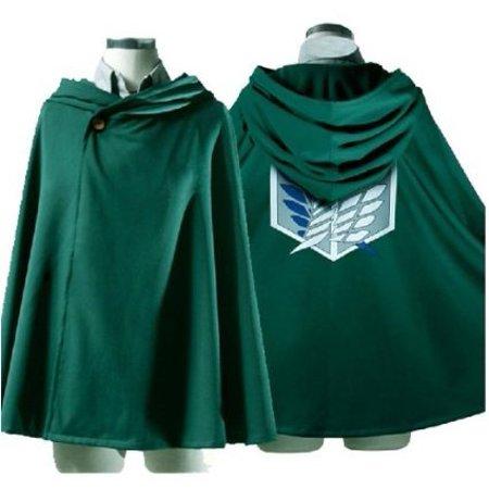 Fantasycart Attack on Titan Anime Shingeki no Kyojin Cloak Cape Clothes Cosplay