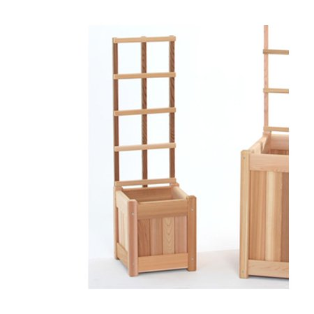 Image of All Things Cedar 2 Piece Wood Trellis Set