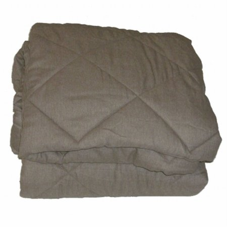 Sonoma Heather Tan Quilted Puffer Throw Blanket