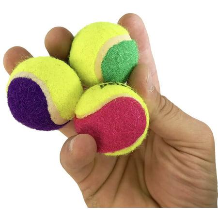 2044 pk3 Mini Tennis Balls Foot Talon Bird Toys