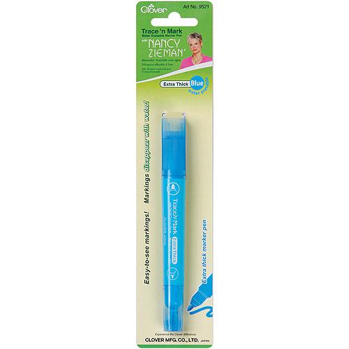 Trace 'n Mark Water-Erasable Marker Pen By Nancy Zieman-Blue