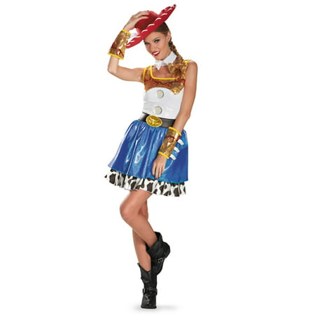 Womens Toy Story Jessie Glam Halloween Costume](Jessie Toy Story Costume Adults)