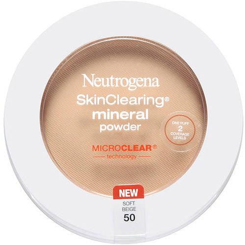 Neutrogena Skinclearing Mineral Powder, Natural Ivory 20, 0.38 oz