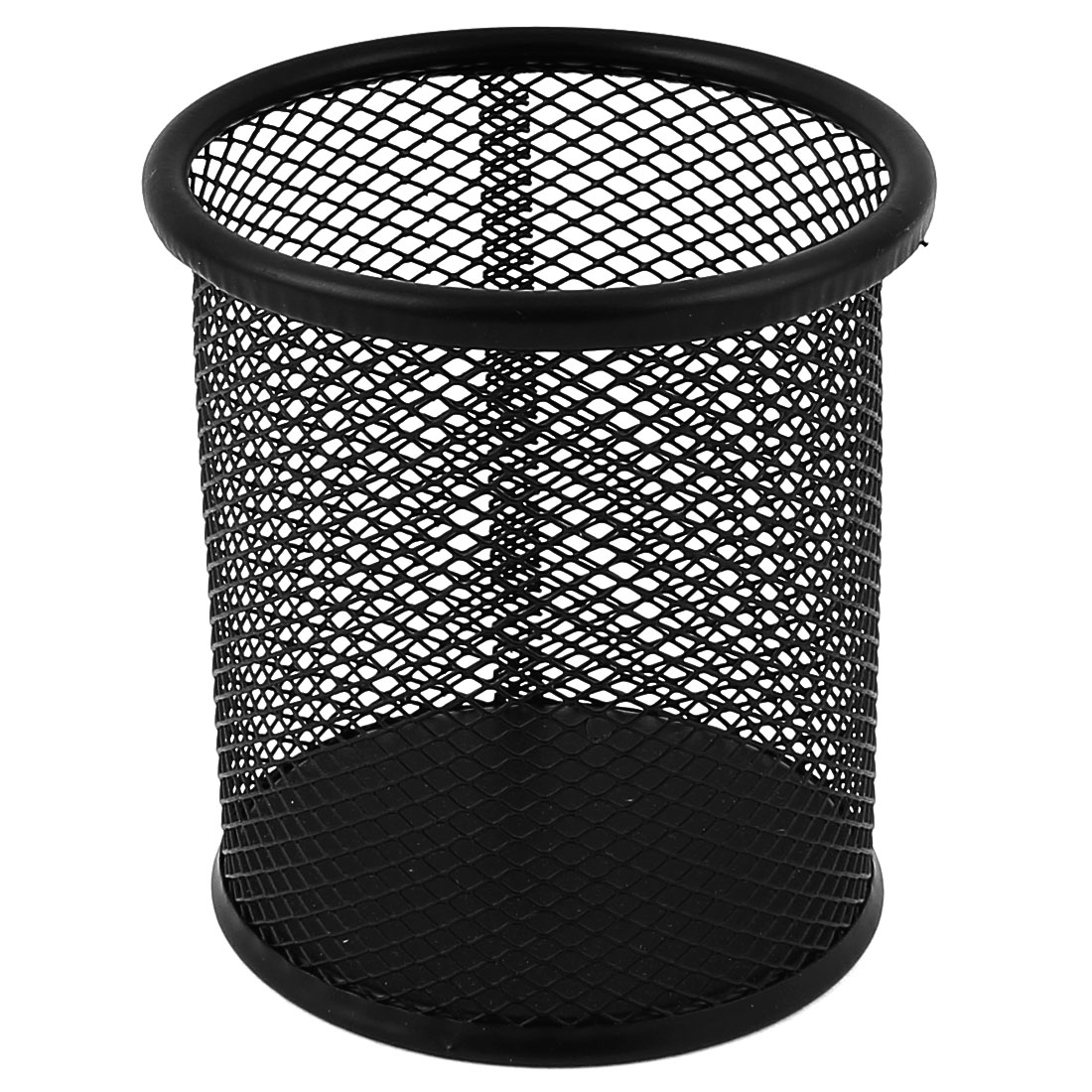 Office Space Supply Black Metal Mesh Pen Pencil Holder