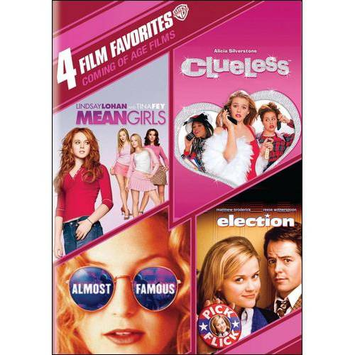 4 FILM FAVORTIES-COMING OF AGE FILMS (DVD/4FE/MEAN G/CLUELESS/ALMOST/ELECTI