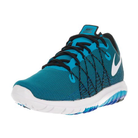 Nike - Nike Men s Flex Fury 2 Blue Glow White Black Rcr Blue Running ... ca6b5fa151