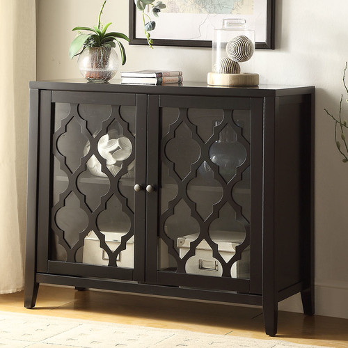ACME Ketra Console Table, Black by Acme Furniture