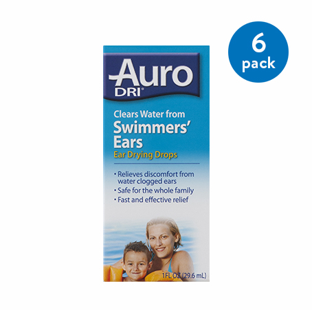 (6 Pack) Auro-Dri Ear Drying Aid 1 oz
