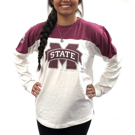 Mississippi State University Alumni - Mississippi State Bulldogs Womens Shirt; Long Sleeve T - Shirt University Apparel Clothing