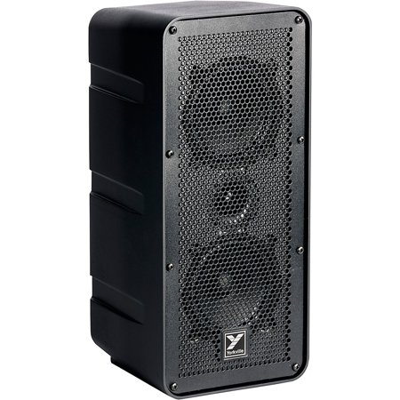 yorkville exm70 ultra compact dual 5 powered portable pa speaker. Black Bedroom Furniture Sets. Home Design Ideas