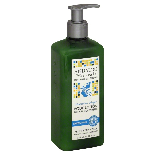 Andalou Naturals Clementine Ginger Energizing Body Lotion - 11 Oz
