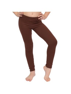 Stretch is Comfort Girl's Cotton Footless Leggings