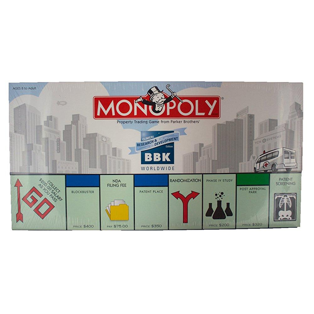 Monopoly: BBK Clinical Research & Development Edition by
